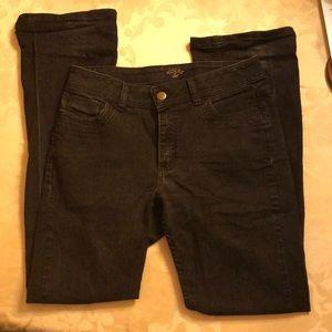 Lee Rider Size 12L Women's Black Jeans